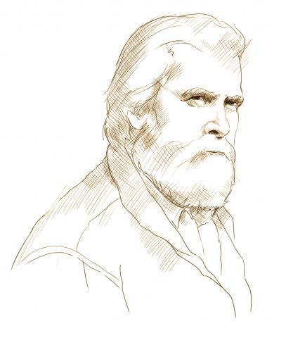 Sketch of Shane Mahoney